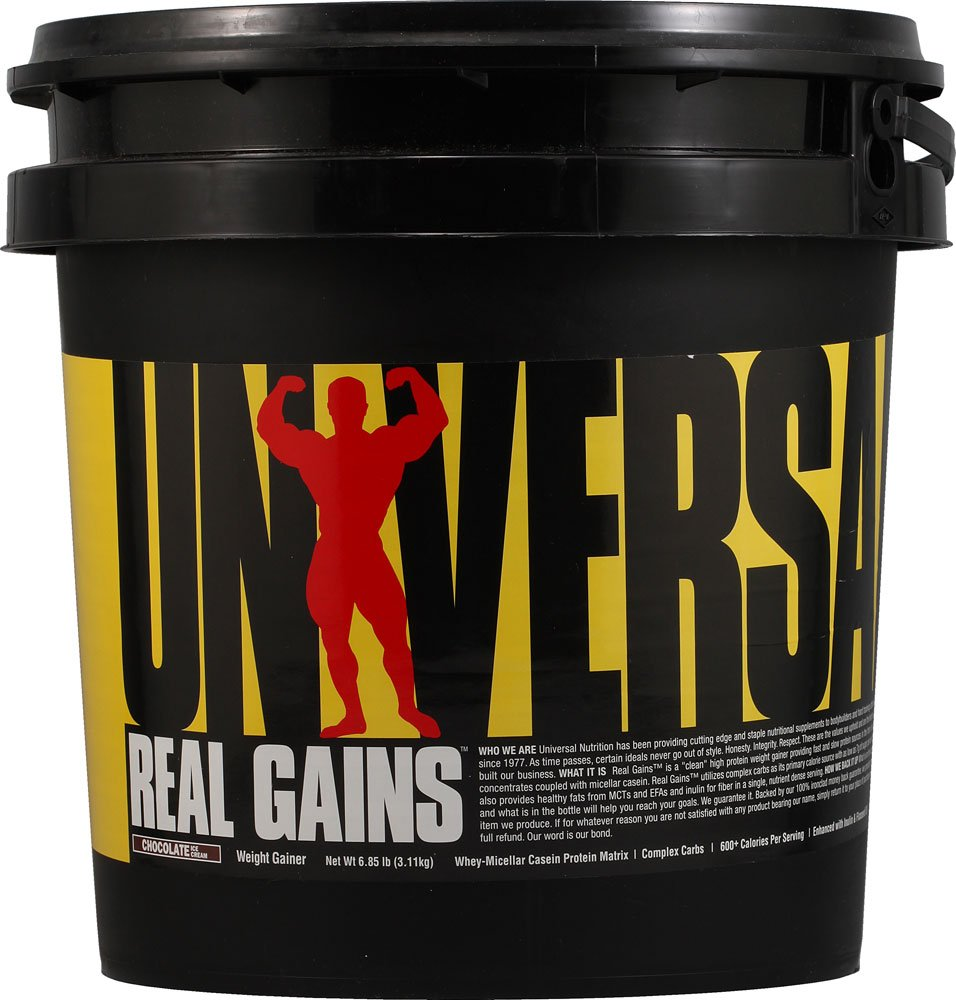 リアルゲイン (Real Gains) クッキーアンドクリーム 6.85lb 人気サプリメント 「Best supplement」 B06VVKMNN6