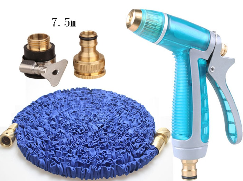 SHI XIANG SHOP Hochdruck-einziehbare Autowäsche Wasserpistole Blau Mehrfachlänge Optional A+ ( größe : 7.5 m )