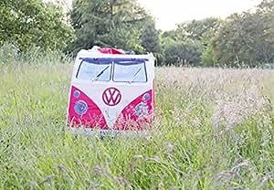 Retro VW Camper rojo nios tienda