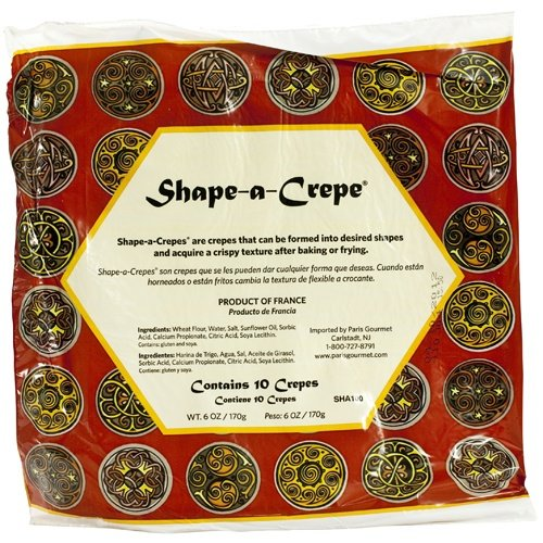 Molding Crepes - Feuilles de Brique - 1 bag, 10 crepes