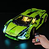 BRIKSMAX Led Lighting Kit for Technic Lamborghini Sián FKP 37 - Compatible with Lego 42115 Building Blocks Model- Not Include