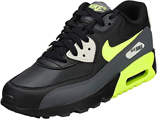 nike AIR MAX 90 LTR (GS) DARK GREYVOLT BLACK LIGHT