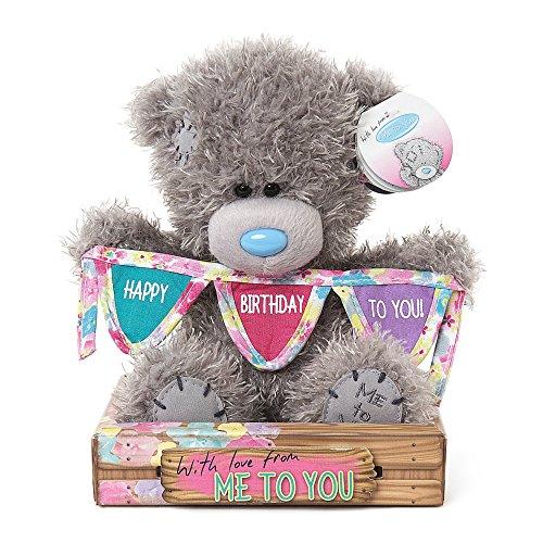 Me To You Happy Birthday to You Bunting Tatty Teddy Bear