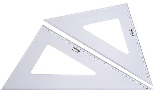 12 opinioni per Rotring Centro geometria Rule/goniometro/Set Quadrato Set quadrato- 2 pezzi 32