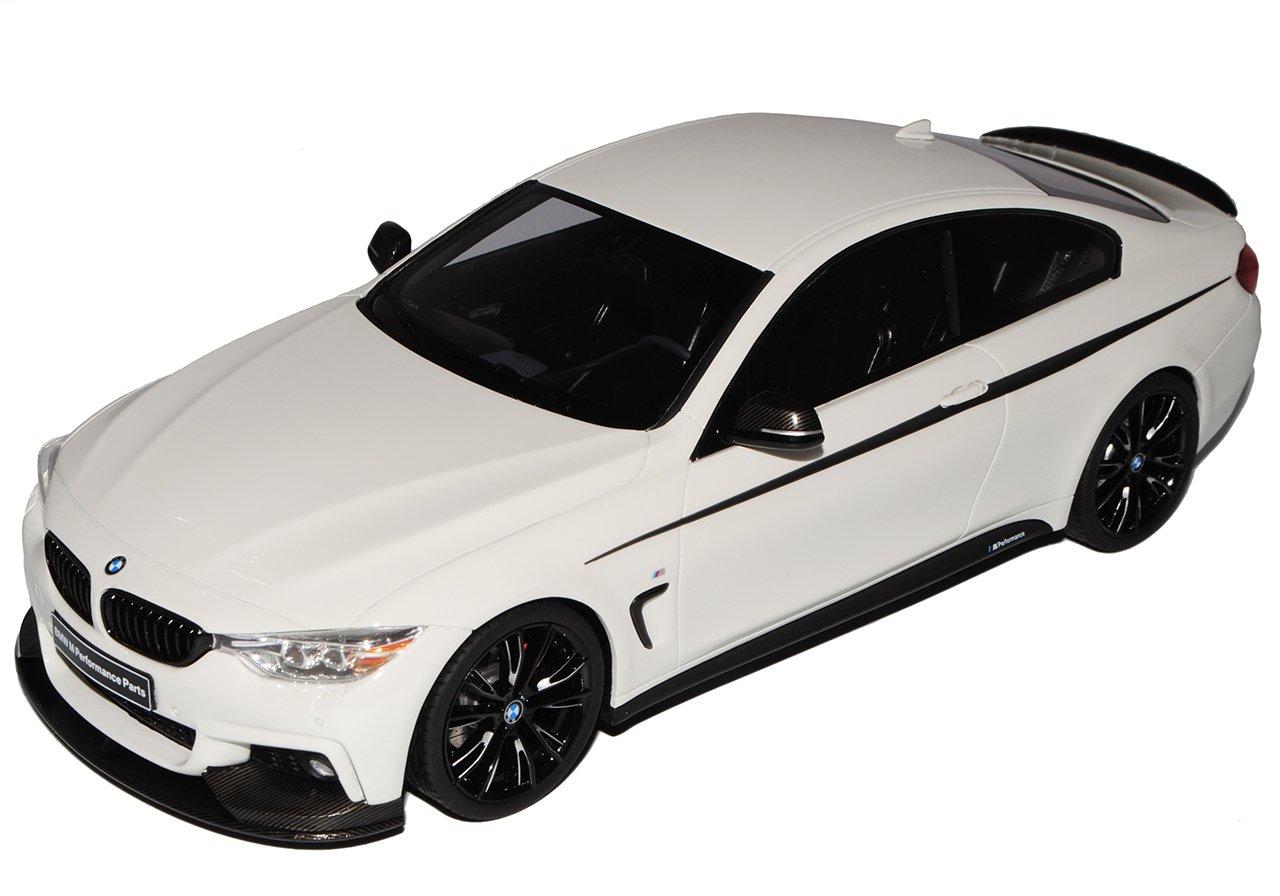 GT Spirit BMW 4er M435i Sport Sport Sport Coupe M Paket Performance Weiss Ab 2013 Nr 710 1/18 Modell Auto 638fcc