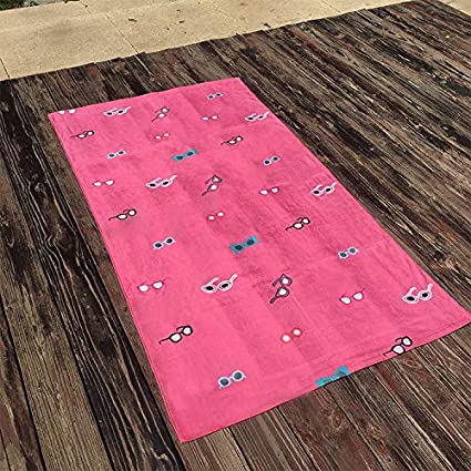 Toallas De Playa Toallas De Baño Toalla De Playa Verano Fresco Blanco Sorbete Playa Natación Toalla