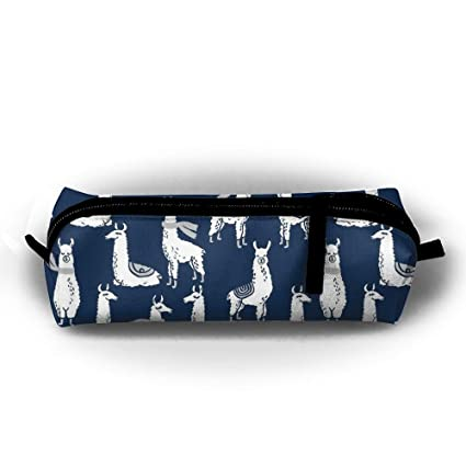 Cool stationery items home Office Cubicle Amazoncom Llama Navy Pen Bags Key Case Classroom Stationery Test Items Home Supplies Pen Boxes School Supplies Zipper Bag Home Kitchen Bigsmallin Amazoncom Llama Navy Pen Bags Key Case Classroom Stationery Test