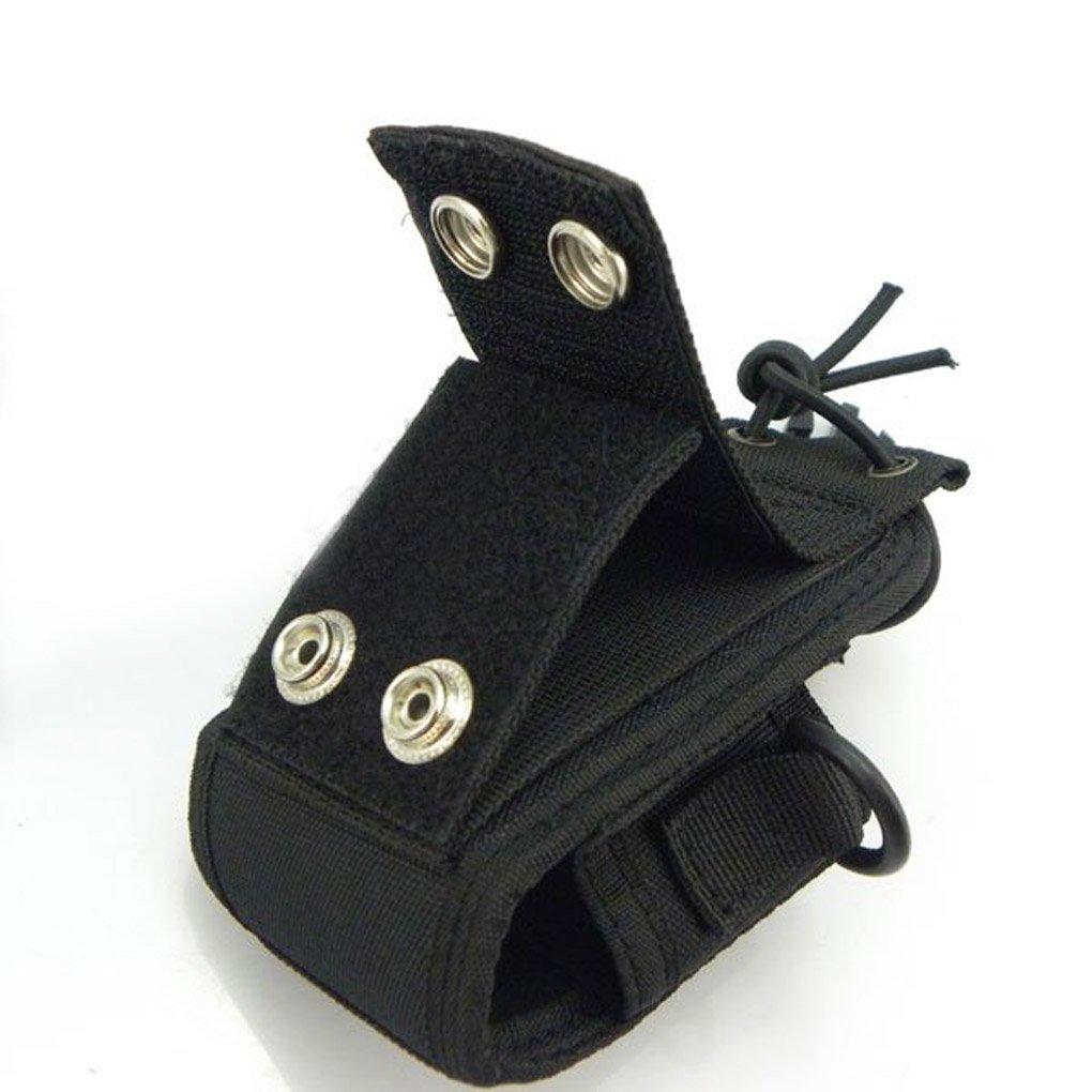 Morza 3 en 1 Caso Bolsa de Funda Radio de Dos v/ías de Motorola GP328 MTP850 Midland Icom Baofeng UV-82 Wouxun walkie Talkie