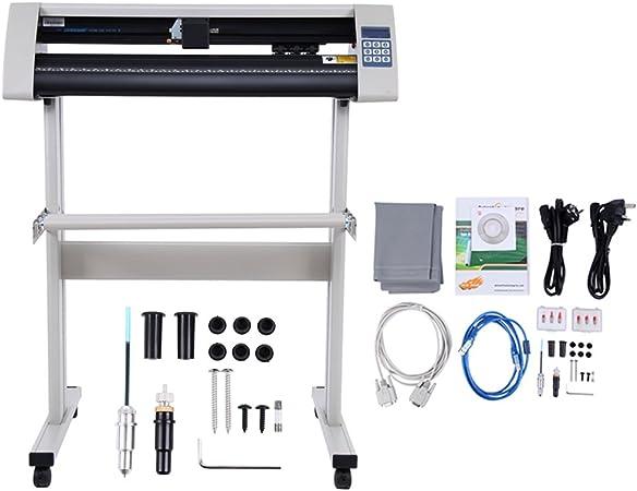 Yonntech 28 Inch Cortador de Vinilo LCD USB Plóter de Corte con escáner Vinilo de Corte Vinilo gráfico Car Wrap Cutting Tool Aplicación (Maquina de Cortar): Amazon.es ...