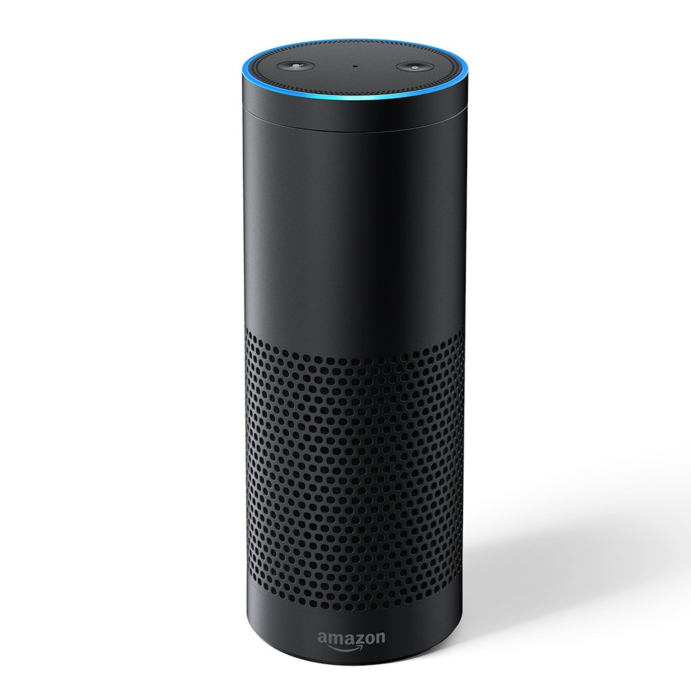 Echo Plus with built-in Hub 1st Generation – Black