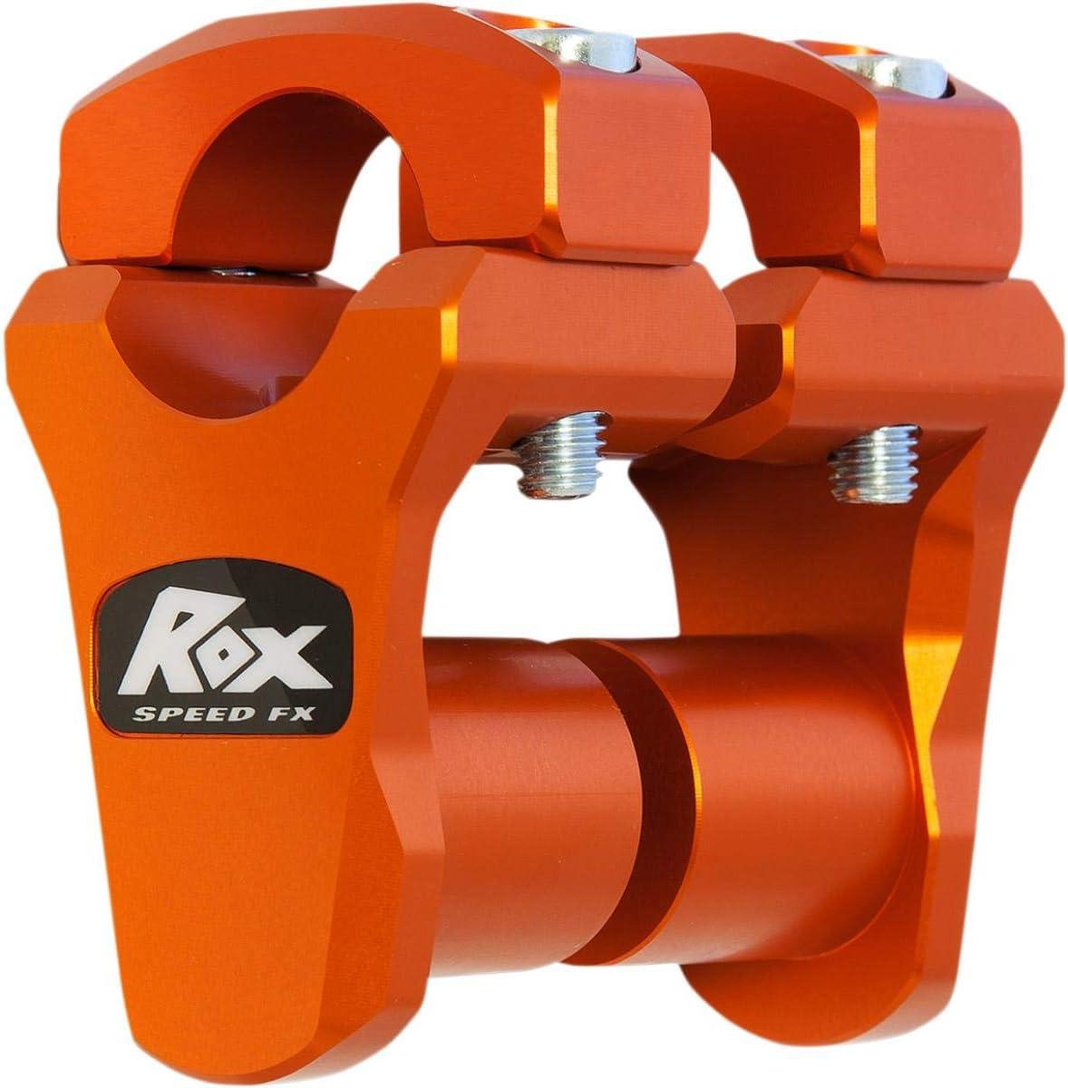 "Pro-Offset Elite Block Riser 1-1//4/"" Rise Black Anodized Rox Speed FX 3R-B12POEK"