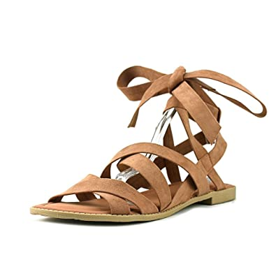 Esprit SkylarE Open Toe Canvas Gladiator Sandal Blush Size 65