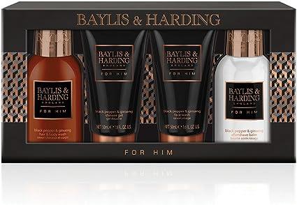Baylis & Harding - Set de regalo para hombre, pimienta negra y ...