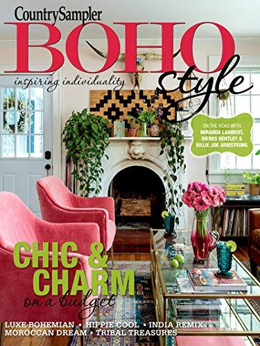 Sampler Magazine - country sampler magazine boho style 2018 chic & charm