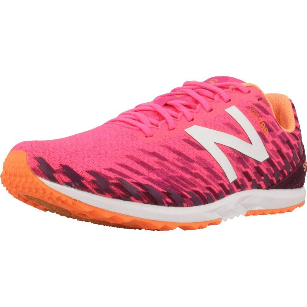 New Balance Women's 700V5 Removable Spike Track-Shoes Alpha Pink/Dark Mulberry 8.5 B US