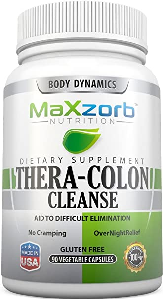 Thera-Colon Cleanse - Supports a healthy, well functioning colon. - 90 Vegetable