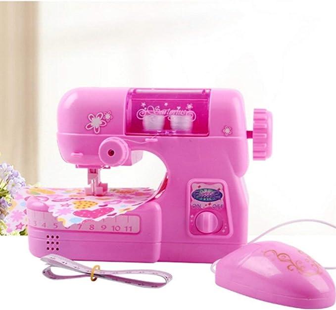 MXECO Máquina de Coser eléctrica para niños Chica Play House ...