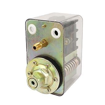 AC 380V 20A 0.3-1.5MPa compresor de aire Interruptor de presión de la válvula