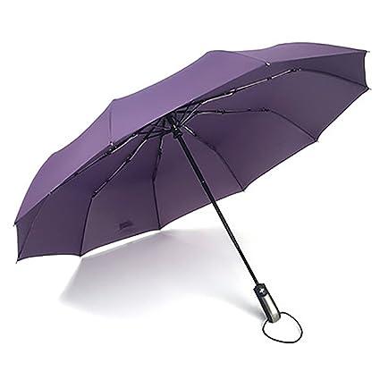 Amazon.com : Reinhar Automatic Folding Umbrella Male Parasol Large Paraguas Windproof Black Women Umbrellas rain women parapluie : Sports & Outdoors