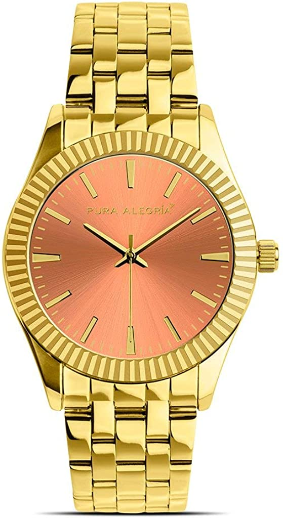 Reloj PURA ALEGRÍA Coral Gold