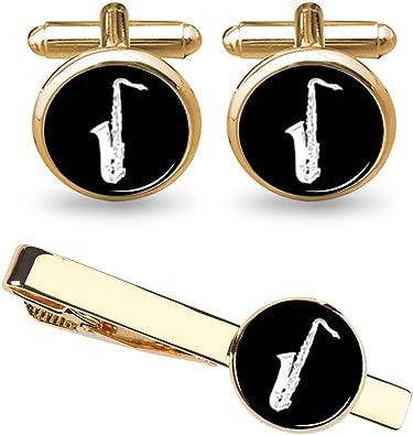 High Quality Saxophone Cufflinks