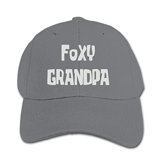 33538ce1739 Amazon.com  Foxy Grandpa Trucker Cap Adjustable Baseball Hat Boys ...