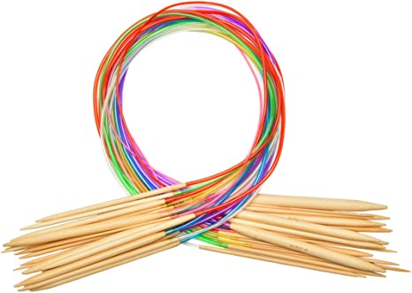 Clover Bamboo Circular Knitting Needles Takumi 16-Inch Size 0