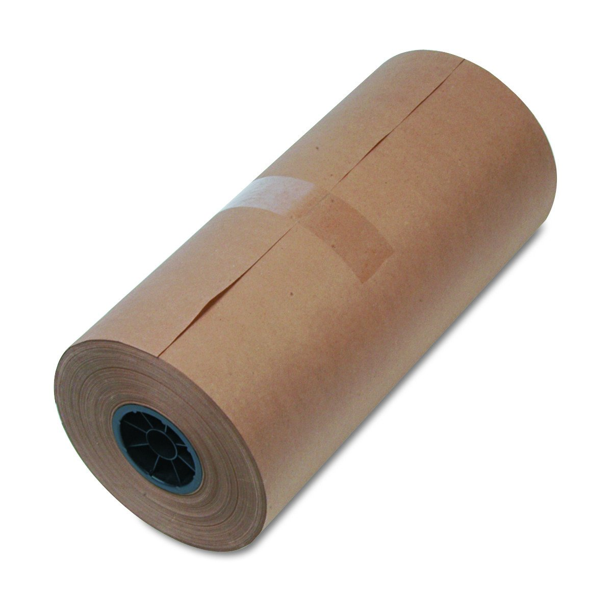 mediumweight 9 Dia 18w x 900-ft. Brown Kraft Wrapping Paper roll United Facility Supply 1300015 40-Lb