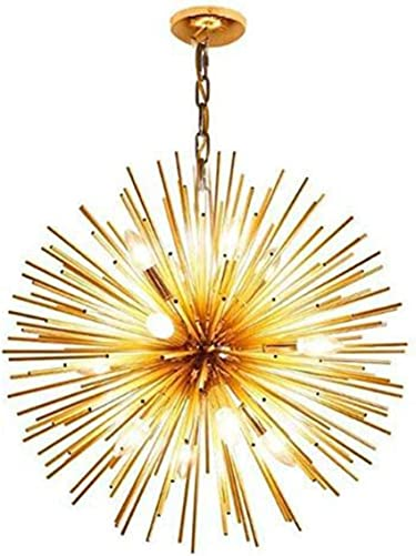 Golden Sputnik Chandelier