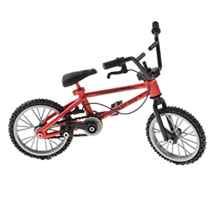 Fityle 1:24 Red Bicycle Simulation Toy Creative Mountain Finger Bike Birthday Christmas Gift