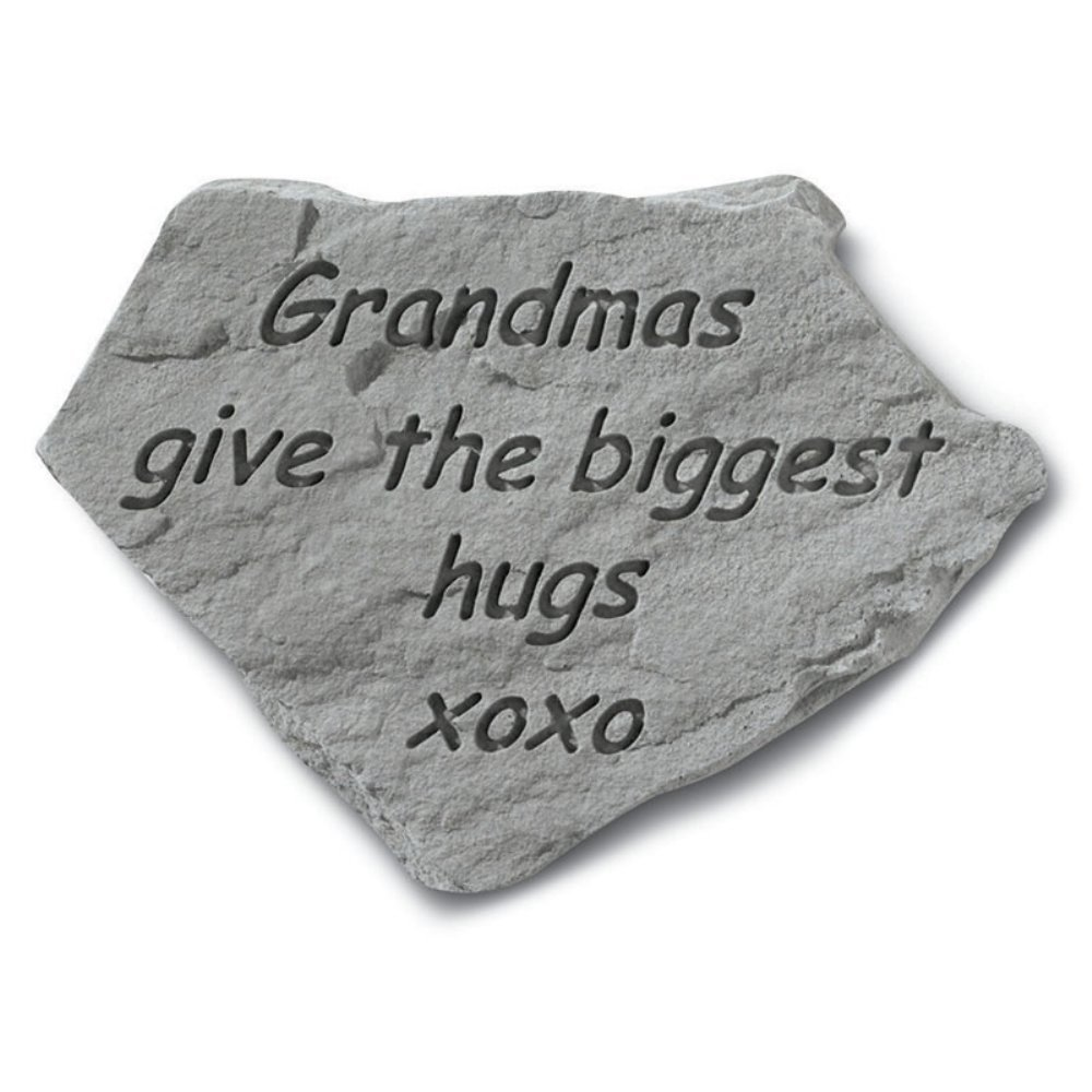 The Biggest Hugs Garden Stone