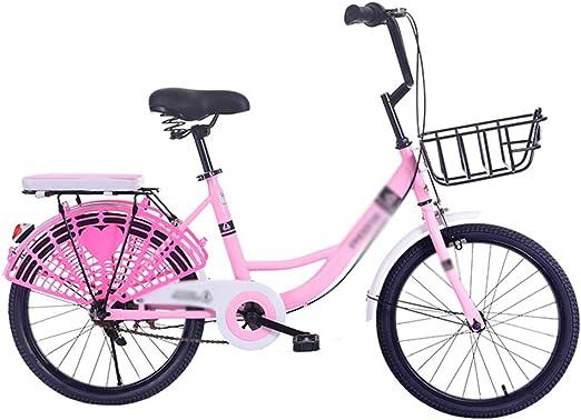 Paseo Bicicleta Peso Ligero Bicicleta para Niños Y Niñas Velocidad ...