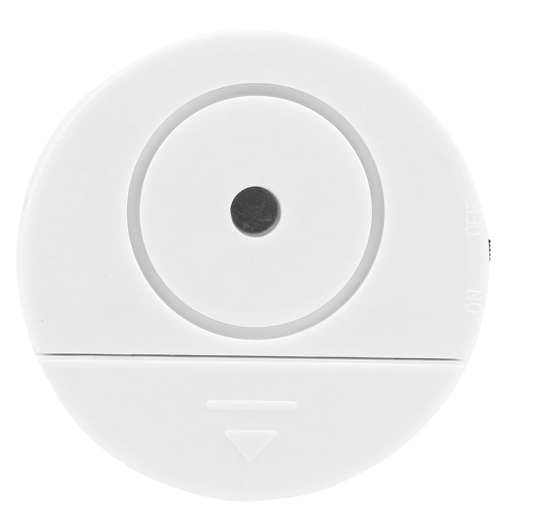 Olympia VA 200 Glasbruchmelder mit Alarm, R/ückseitiger Klebestreifen, 95 dB Alarm, Glasbruchsensor, Glasbruchalarm f/ür Fenster in Haus und Wohnung