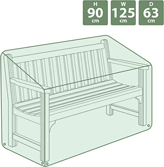 Bentley Garden - Funda impermeable de muebles de jardín y banco de 2 - 3 plazas: Amazon.es: Jardín