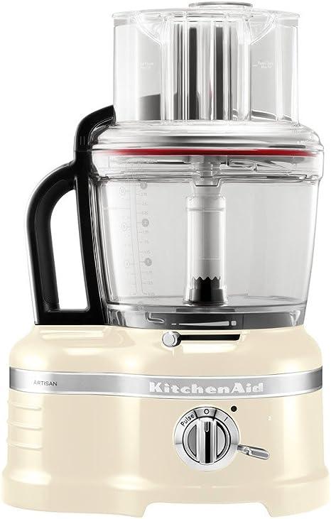 KitchenAid 5KFP1644EAC Robot de cocina, 650 W, Transparente: Amazon.es: Hogar