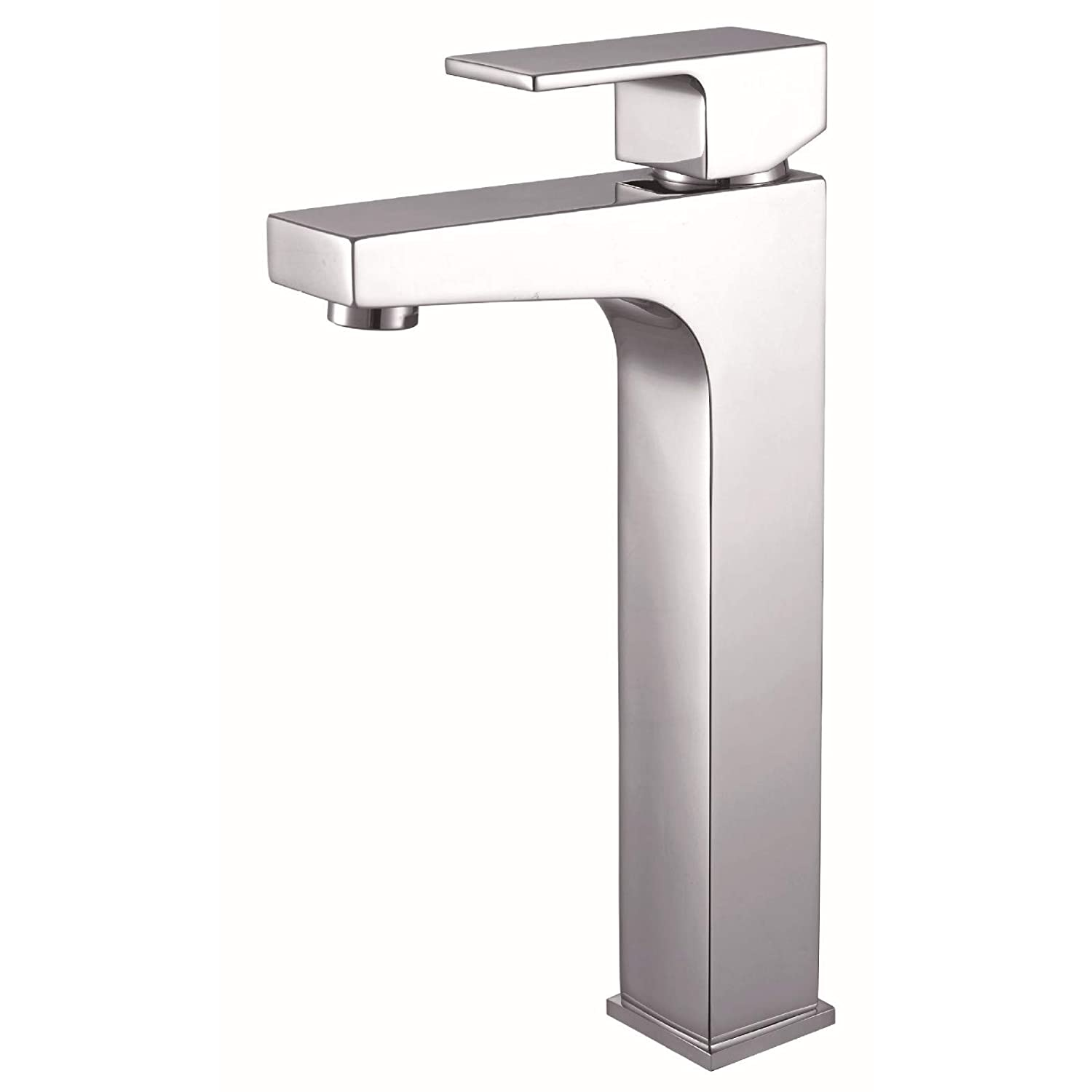 LHbox Basin Mixer Tap Bathroom Sink Faucet Chrome single handle single hole cold-hot water and high-basin mixer