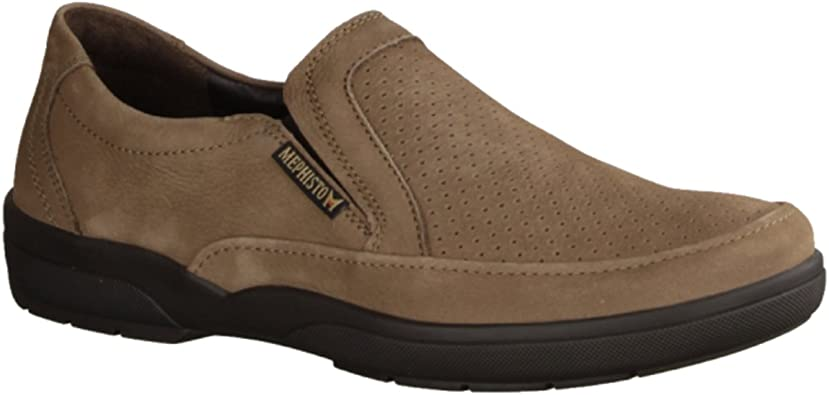 mocassin mephisto homme perfore