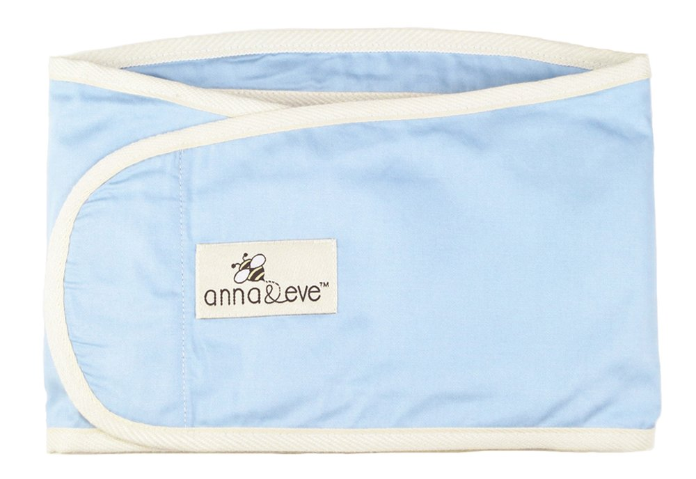 Anna & Eve Swaddle Strap Arms Only Baby Swaddle, Blue, Large