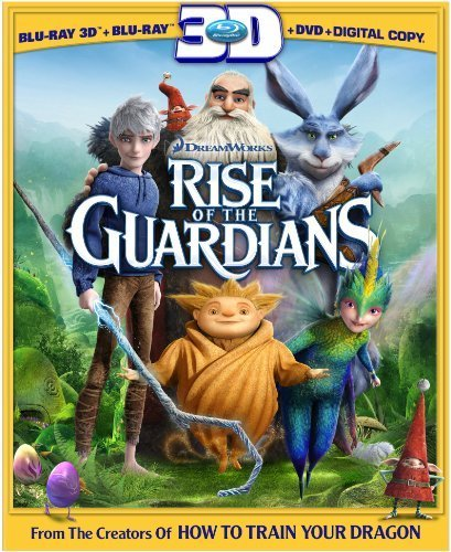 Rise of the Guardians (Three-Disc Combo: Blu-ray 3D / Blu-ray / DVD / Digital Copy + UltraViolet) by DreamWorks Animation
