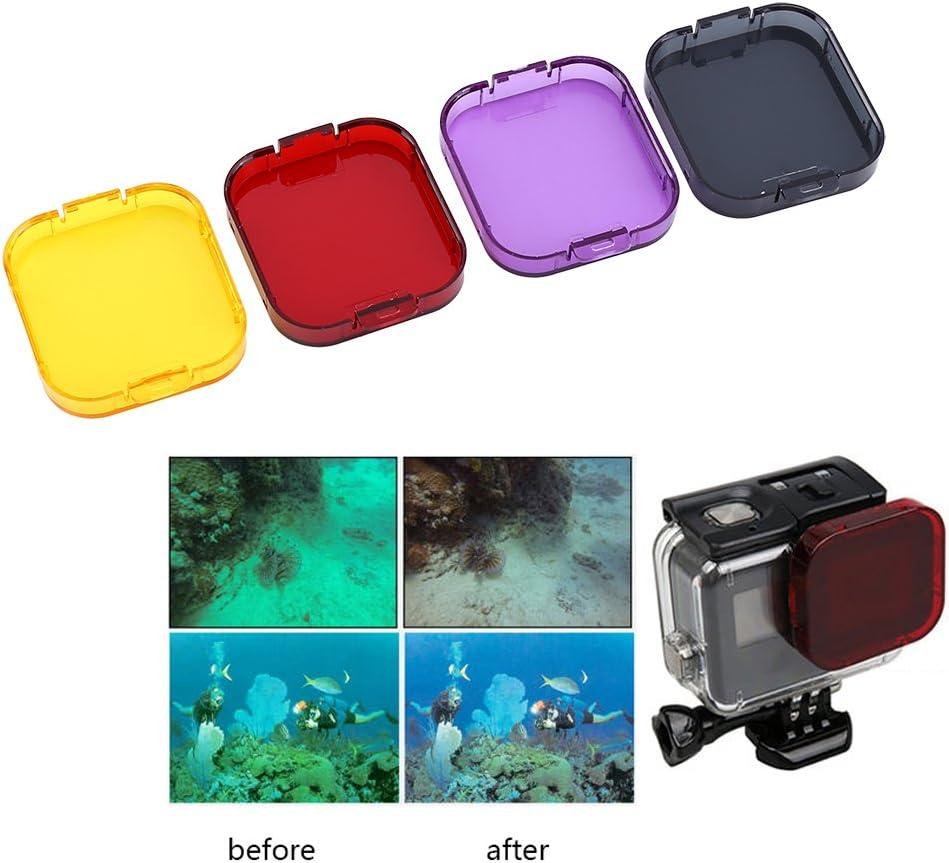 Protective Underwater Camera Dive Filter Housing Case Bracket VGEBY Diving Lens Filter