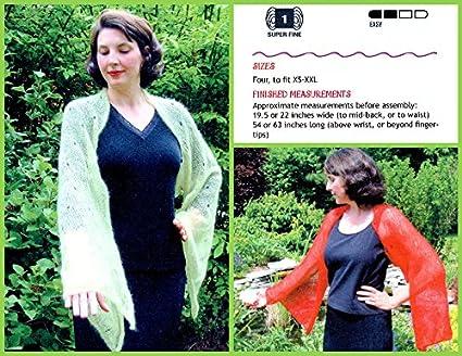 Amazon Tsubasa Shrug Natalie Wilson Iknitiative Knitting