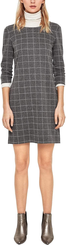 s.Oliver RED Label Damen Stretchkleid aus Interlock-Jersey
