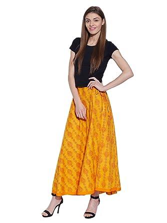 nouveau style e0123 fd381 Gypsy Robe en coton Eté Jupe longue longueur cheville ...