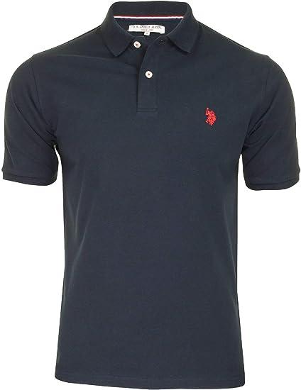 U.S Polo Assn. Polo para Hombre Core Pique Azul Core Pique ...
