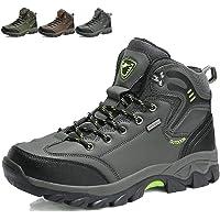 KAMIXIN Chaussures de Randonnée Hommes Chaussures de Marche Antidérapant Outdoor Sports Bottes de Marche Chaussures Montagne Chaussures de Trekking Femmes
