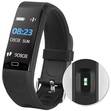 D-Parts Fontastic Bluetooth Smartwatch FontaFit 140CH, Negro ...