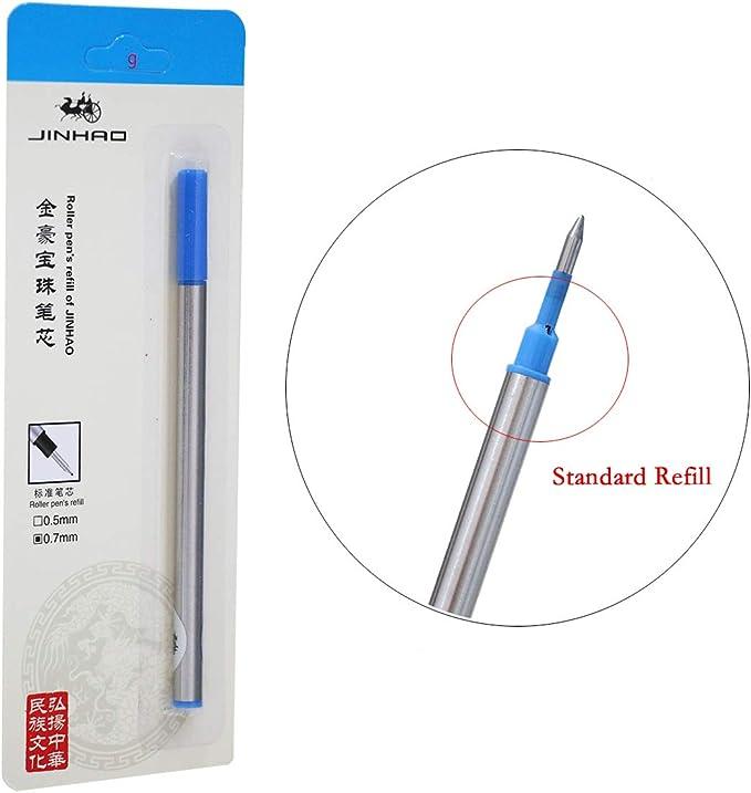 8521 BLUE Cross Standard Selectip Gel Ink Rollerball Pen Refill
