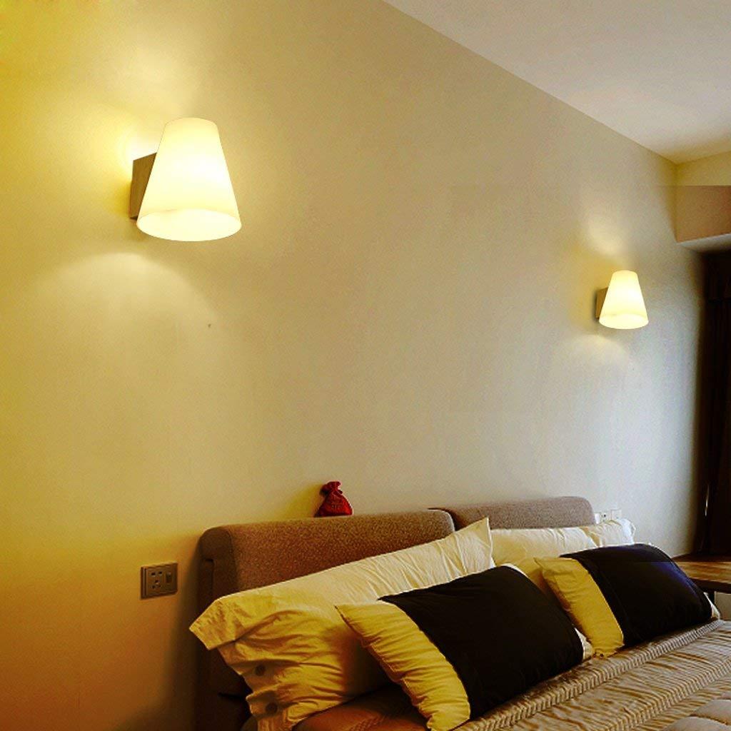 FERZA Home Wandleuchte Schlafzimmer Kopfteil Wandleuchten Gang Gang Gang Innenbeleuchtung Einfache Moderne hölzerne Wandleuchten e2f06f