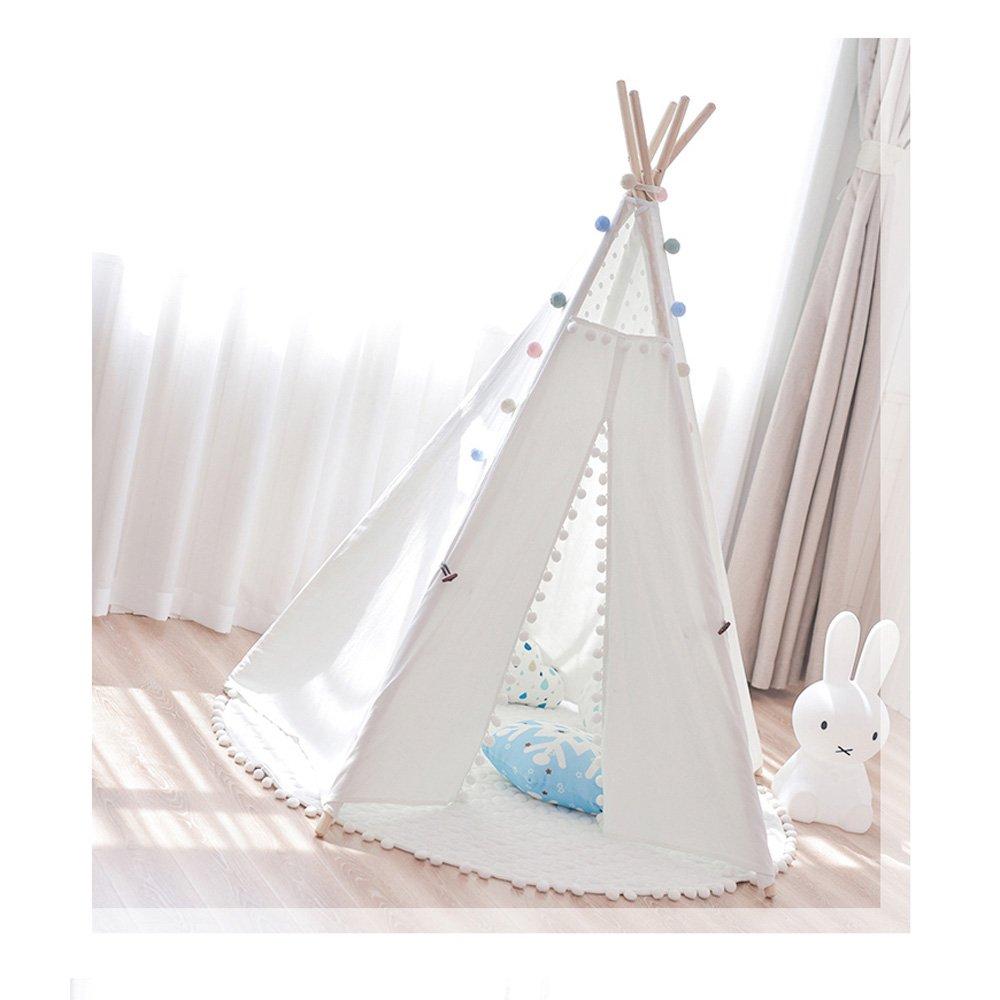 Weiß QAR Kinder Zelt Spielen Haus Mädchen Kinder Zimmer Dekoration Baby Lesen Ecke Junge Spielzeug Zimmer Zelt