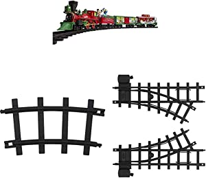 Lionel Disney Mickey Mouse Express Battery-Powered Train Set with Remote + Inner Loop Track Expansion Pack